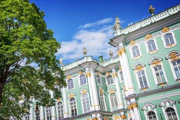 State Hermitage museum facade, St Petersburg, Russia