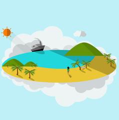 the sea island