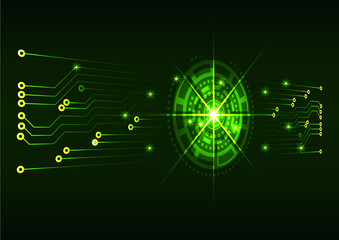 Abstract Technology background for computer graphic website inte