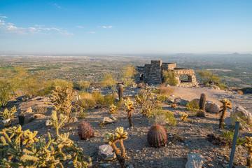 Top view of downtown Phoenix Arizona