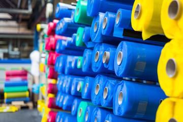 Fototapeta tkanina surowiec przemysł produkcja