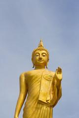 Standing Buddha Bangkok Thailand.
