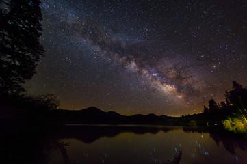 Magical night at the lake