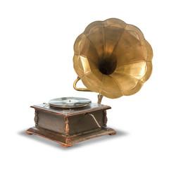 old, antique gramophone