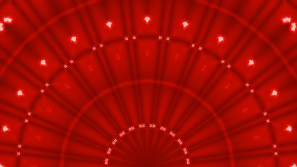 Abstract red curtains moulin rouge