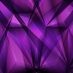 Abstract geometrical Violet background. Vector Illustration