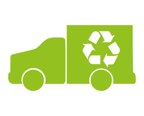 recycle arrows reuse symbol vector illustration design