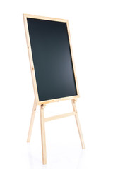 Black board with easel