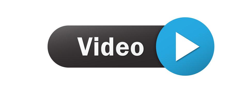 """""""VIDEO"""" Vector Web Button"""