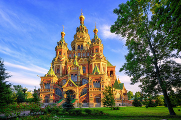 Russian orthodox church, St Petersburg, Russia