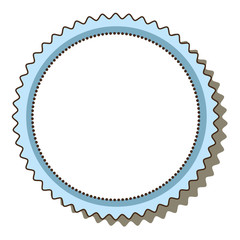 circle frame elegant icon vector illustration design