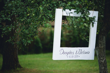 symbolic sign made for young couple