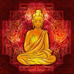 sitting Buddha 3
