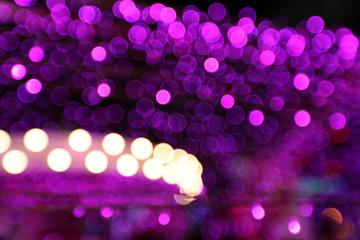City lights abstract circular bokeh