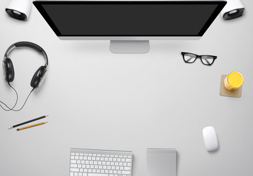 Designer Desk Mockups
