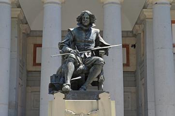 Estatua de Velázquez en Madrid