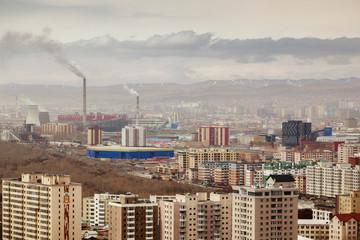 View Ulan Bator, capital of Mongolia