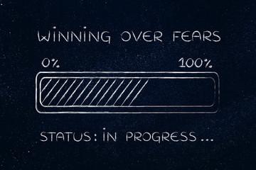 winning over fears progress bar loading