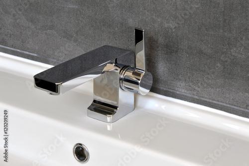 Schön Wasserhahn, Waschbecken, Badezimmer, Armatur, Chrom, Hygiene, Trinkwasser,  Stadtwerke,