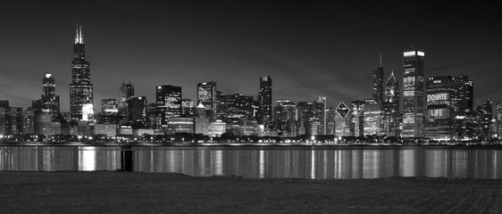 Chicago Panoramic Skyline