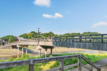 古都金沢 浅野川の風景