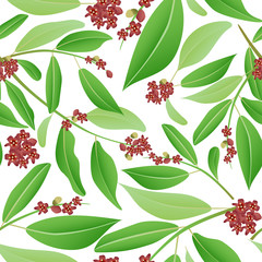 seamless pattern sandalwood