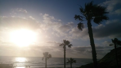 Sunset Nearby Solana Beach
