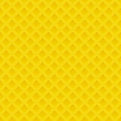 Seamless pattern with yellow relief ornate