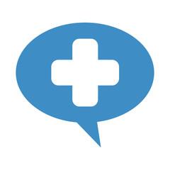 cross medical symbol isolated icon vector illustration design