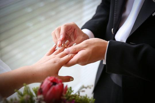 결혼서약/반지교환