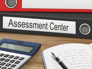 assessment center on binders