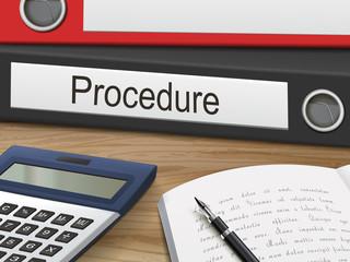 procedure on binders