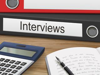 interviews on binders