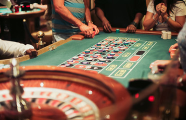 Casino roulette playing