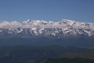 Altai region Russia mountain landscapes