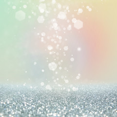 Abstract of Bright and sparkling bokeh background. bokeh-blurred lighting from glitter texture.