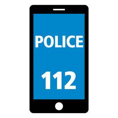 notruf 112 smartphone police neg