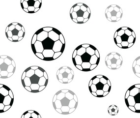 Seamless backgrounds. Football