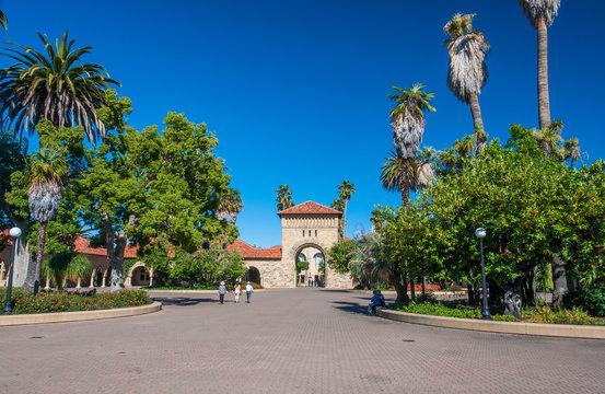 Stanford University Campus in Palo Alto, California