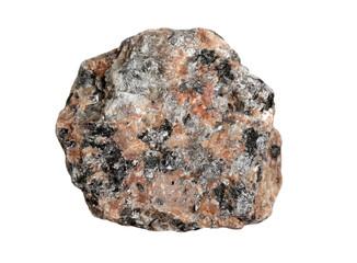 Rock pink granite