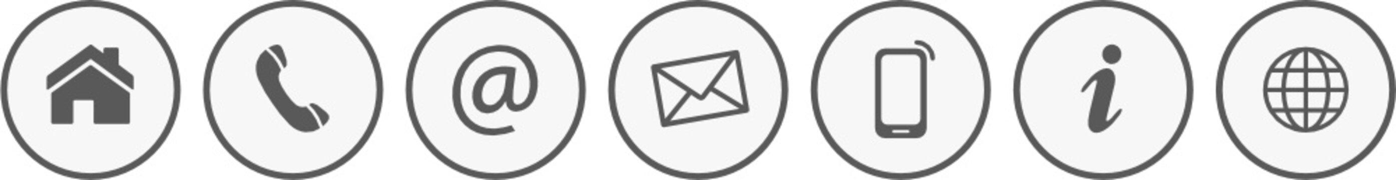 Kontakt Icons