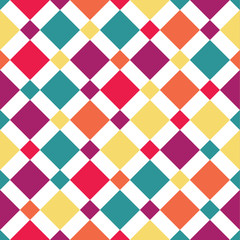 Seamless rhombus pattern.
