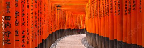 Wall mural Fushimi Inari Panorama