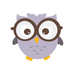owl Vector Illustration.