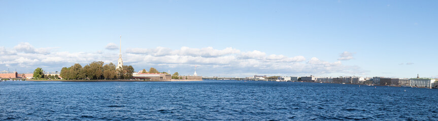 Panorama of the Peter and Paul Fortress