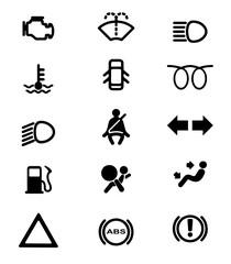 Vehicle Dash Warning Icons