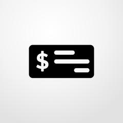 money icon. Flat design