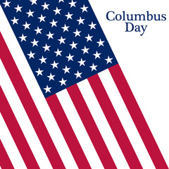 Holiday in the US Columbus Day Poster