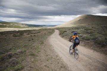 Mountain Biking in Patagonia.