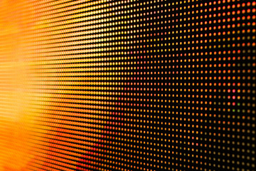 Blurred LED screen closeup. Bright abstract background ideal for any design